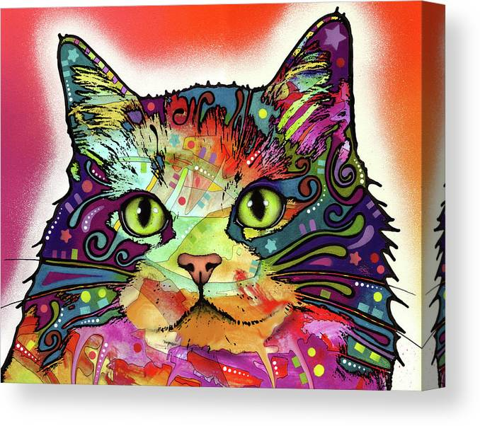 Ragamuffin Canvas Print featuring the mixed media Ragamuffin by Dean Russo