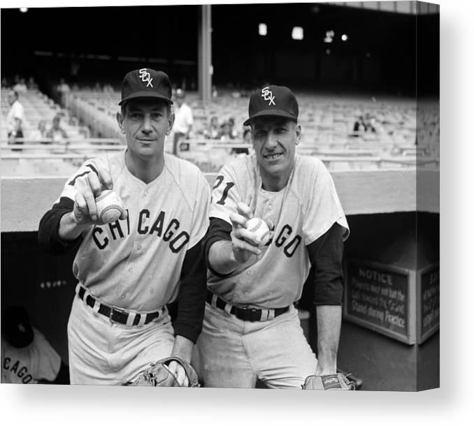 American League Baseball Canvas Print featuring the photograph Turk Lown by New York Daily News Archive