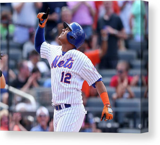 Three Quarter Length Canvas Print featuring the photograph Juan Lagares by Elsa