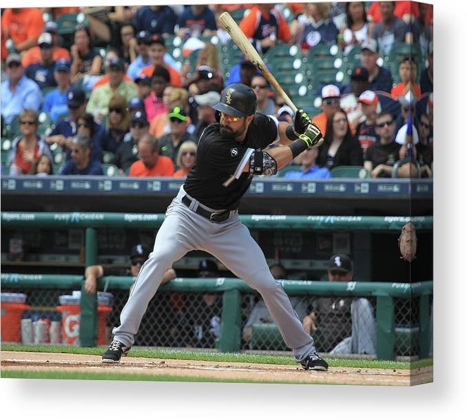 People Canvas Print featuring the photograph Adam Eaton by Dave Reginek