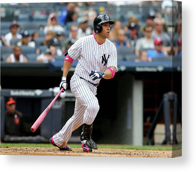 Mother's Day Canvas Print featuring the photograph Carlos Beltran by Elsa