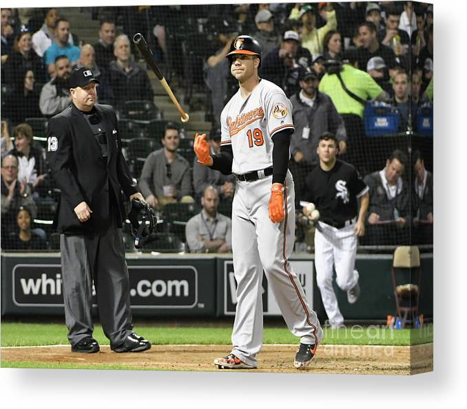 People Canvas Print featuring the photograph Chris Davis by David Banks