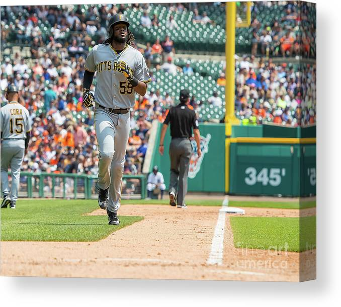 People Canvas Print featuring the photograph Josh Bell by Dave Reginek