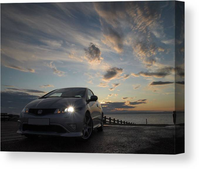 Fn2 Canvas Print featuring the photograph Type R by Christopher Mercer