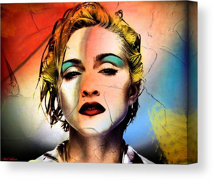 Canvas or Poster MADONNA PRINT G Choose Size /& Media Type