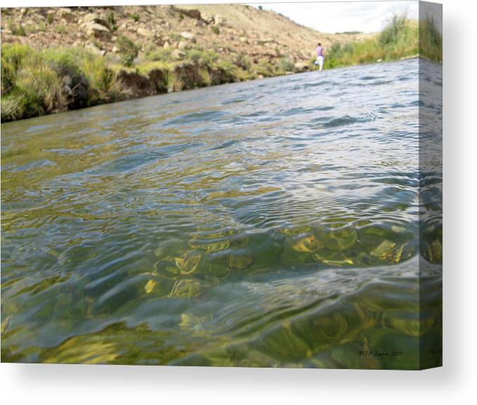 Classified River Canvas Print featuring the photograph Classified River by J P Lambert