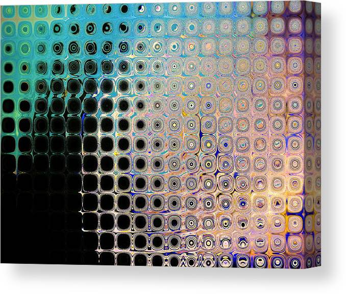 Abstract Canvas Print featuring the print Harmony by Lorenzo Roberts