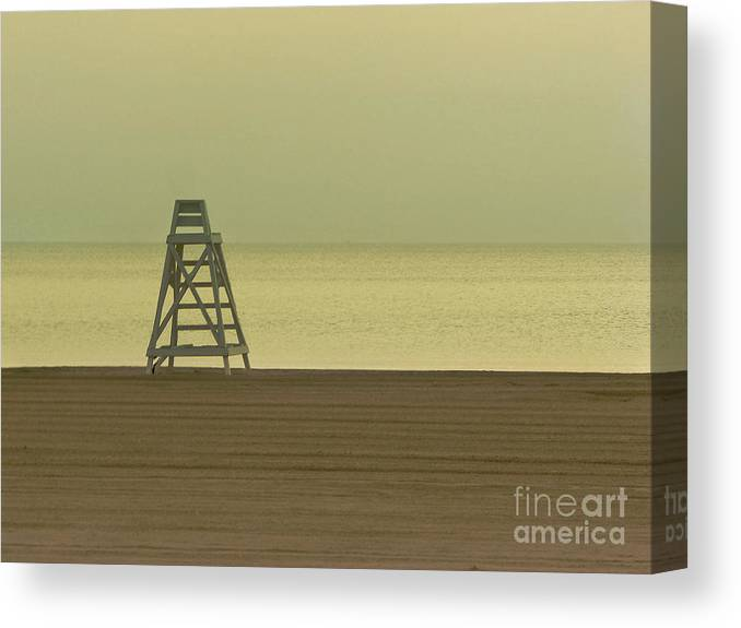 Beach Canvas Print featuring the photograph Will You Lay Here With Me and Just Forget the World by Dana DiPasquale