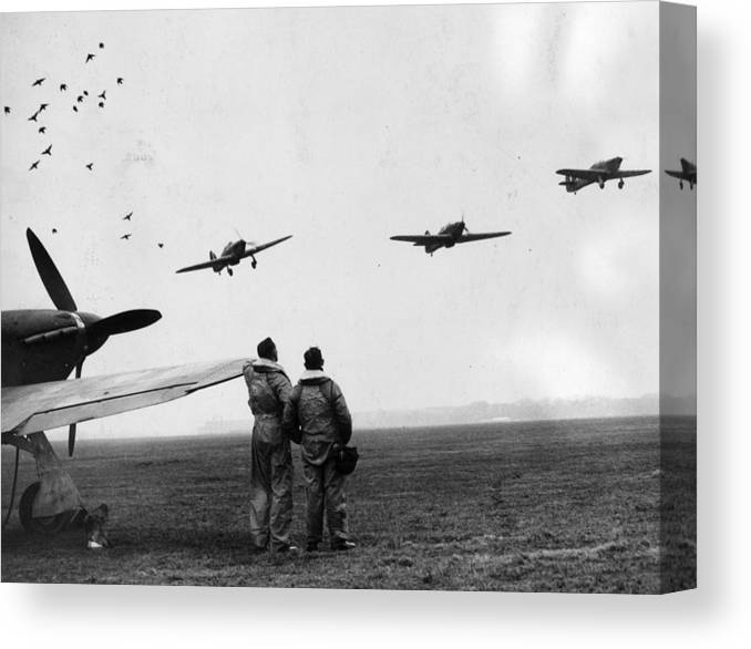 Wind Canvas Print featuring the photograph Hurricane Fighters by William Vanderson