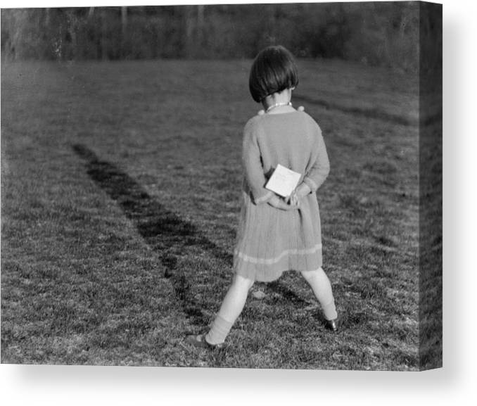 Shadow Canvas Print featuring the photograph Me And My Shadow by Chaloner Woods