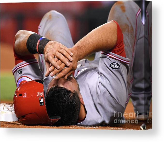 People Canvas Print featuring the photograph Matt Shoemaker by Jayne Kamin-oncea