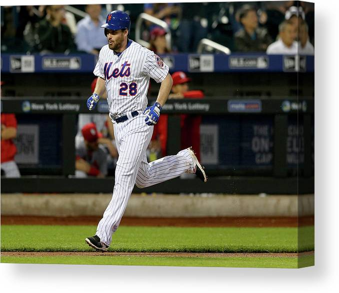 People Canvas Print featuring the photograph Daniel Murphy by Elsa