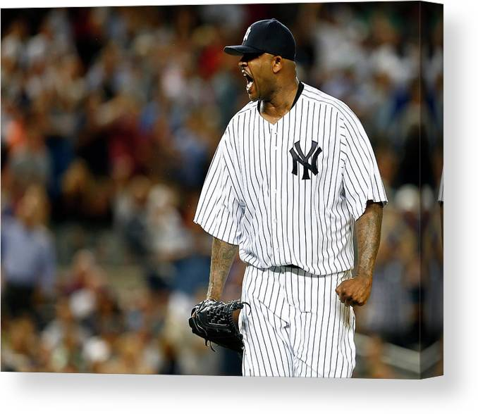 Three Quarter Length Canvas Print featuring the photograph David Ortiz by Rich Schultz