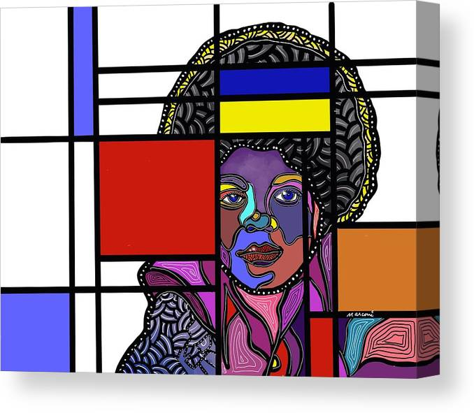 Marconi Art Canvas Print featuring the digital art Marconi-Drian #9 by Marconi Calindas
