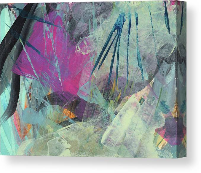 Painting Canvas Print featuring the painting Surface 15 by Ann Thompson Nemcosky