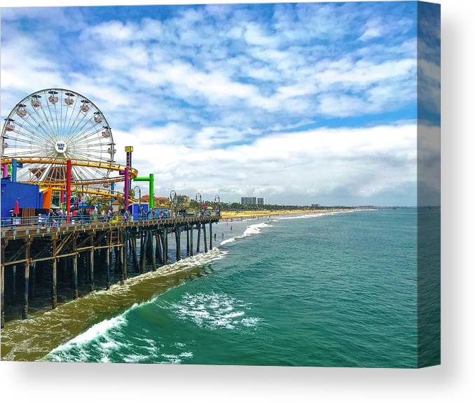 The Pier at Santa Monica by Fred Hew
