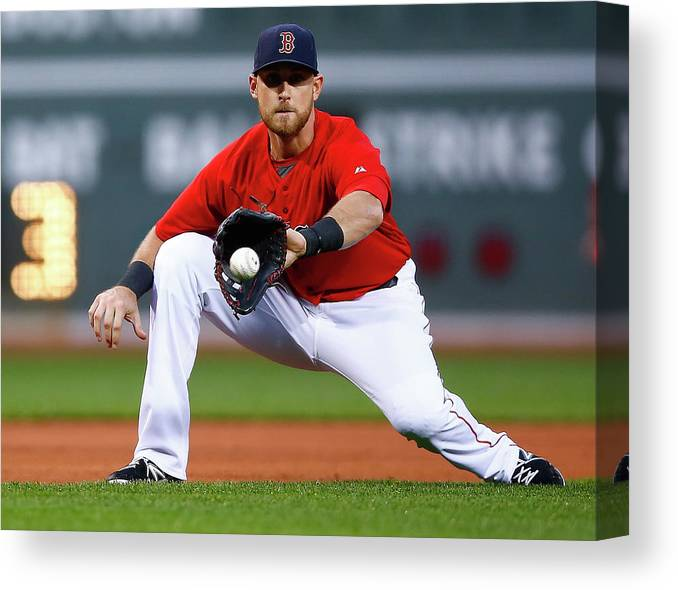 American League Baseball Canvas Print featuring the photograph Wills by Jared Wickerham