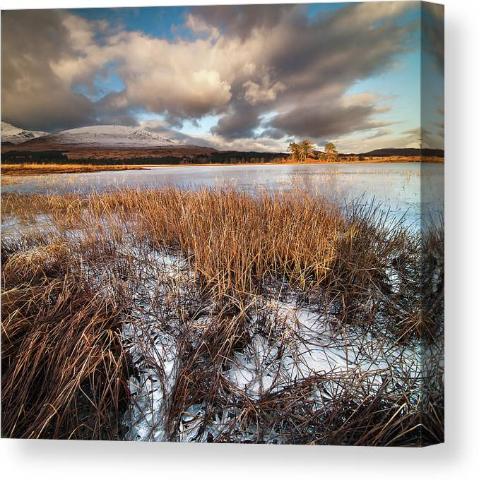 Tranquility Canvas Print featuring the photograph Loch Tulla by Image By Peter Ribbeck