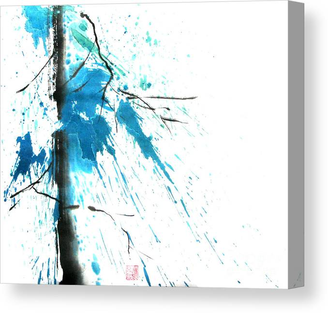 Strong Canvas Print featuring the painting Spirit Of Pine I by Mui-Joo Wee