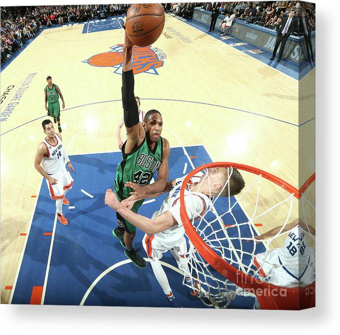 Nba Pro Basketball Canvas Print featuring the photograph Al Horford by Nathaniel S. Butler