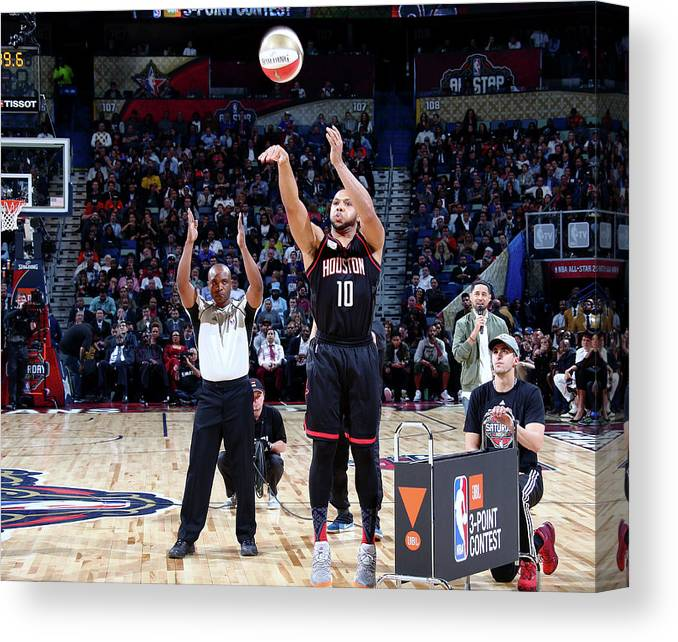Event Canvas Print featuring the photograph Eric Gordon by Nathaniel S. Butler