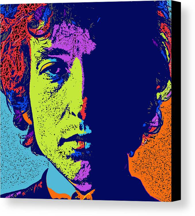 Pop Art Dylan by David G Paul