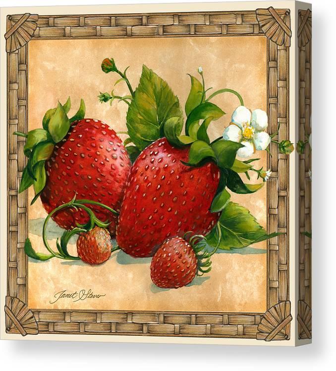 Fruit art Decorative painting  Strawberry