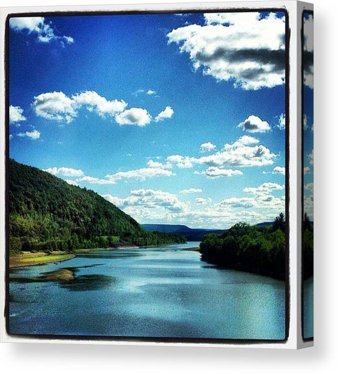 Beautiful Canvas Print featuring the photograph Upstate NY by Mike Maher