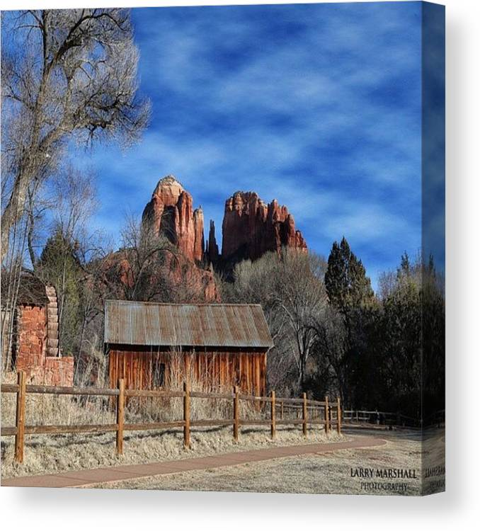 Canvas Print featuring the photograph Another Beautiful Day During Our by Larry Marshall