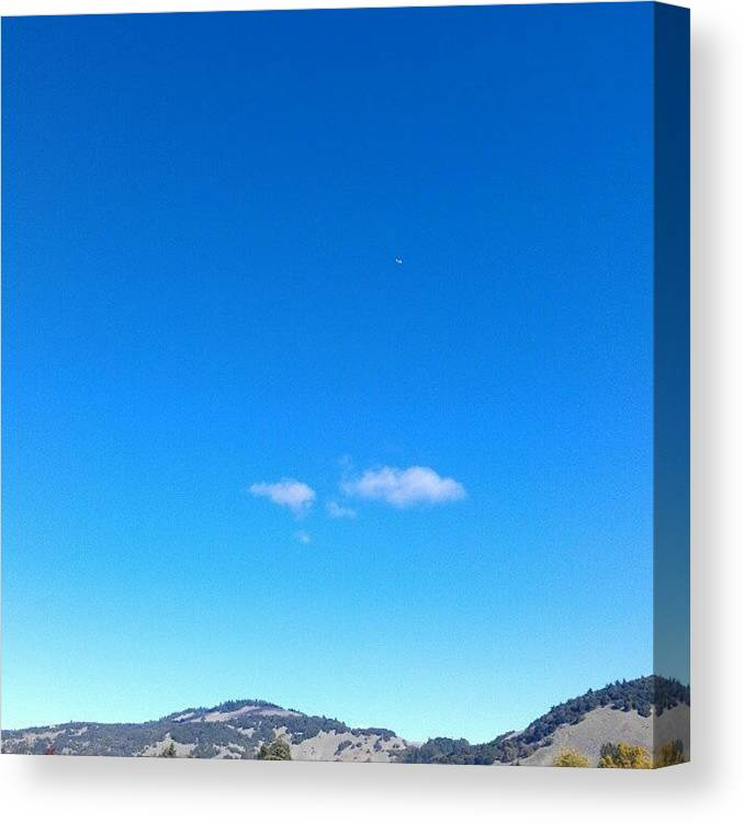 Sky Canvas Print featuring the photograph Big Sky Valley by CML Brown