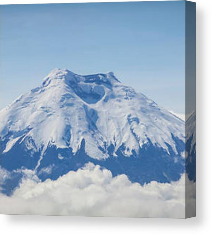 Scenics Canvas Print featuring the photograph Cotopaxi Volcano by J. Smith Photography
