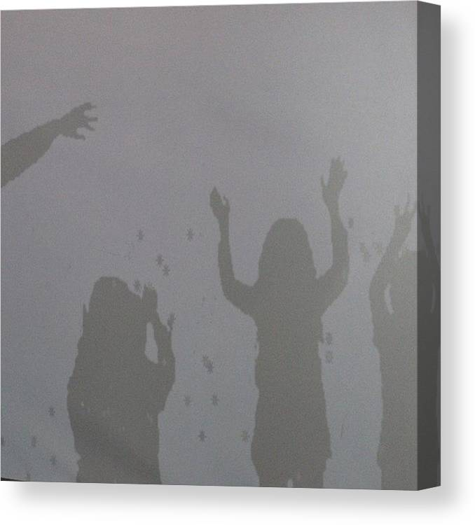 Scienceworks Canvas Print featuring the photograph #fmsphotoaday #june24 #negativespace by Katie Ball
