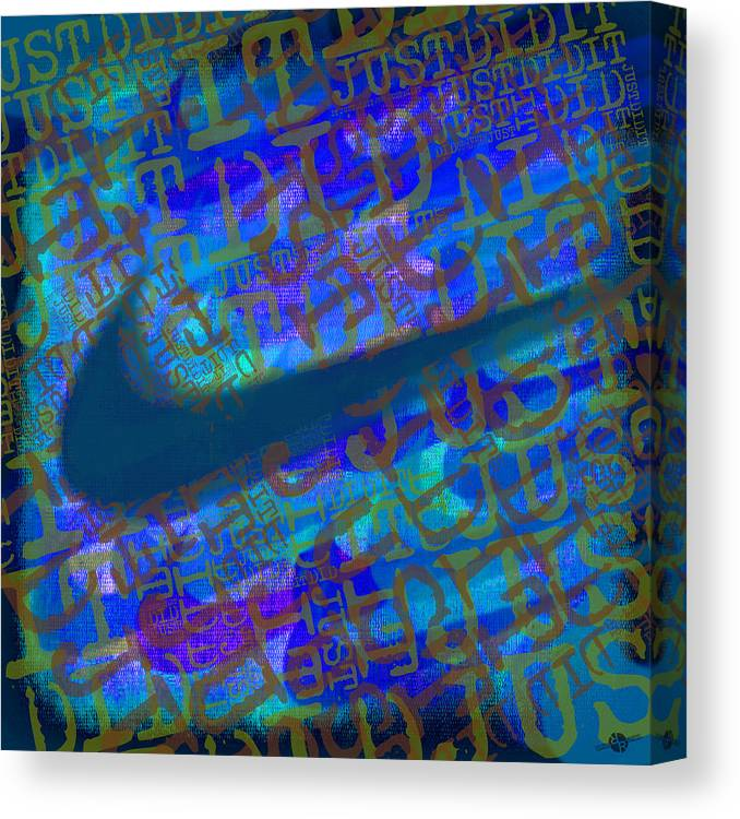 nike canvas blue