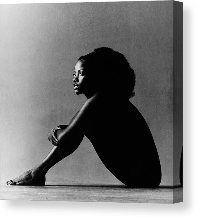 Music Canvas Print featuring the photograph Portrait Of Melba Moore by Jack Robinson