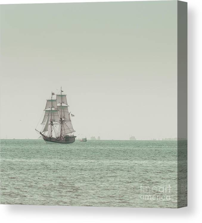 Art Canvas Print featuring the photograph Sail Ship 1 by Lucid Mood