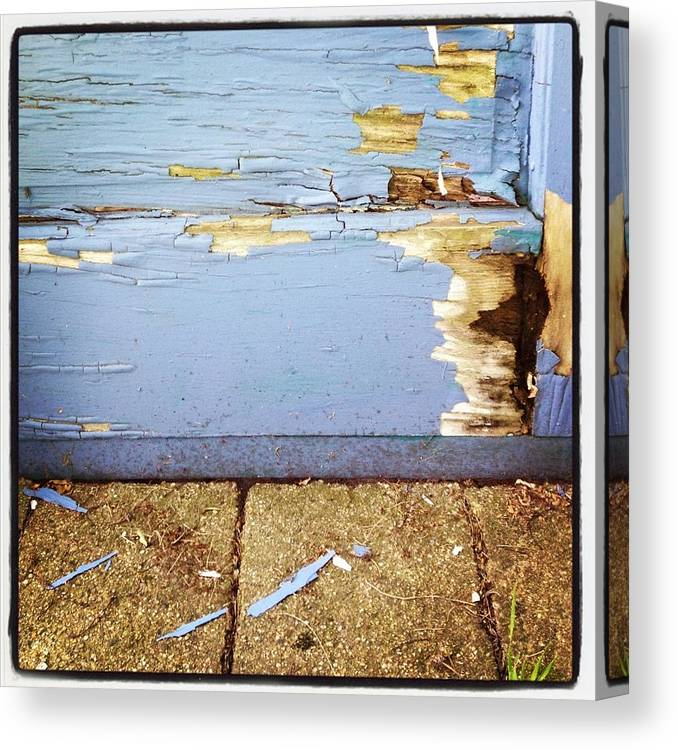 Old Canvas Print featuring the photograph The Old Door by Christy Beckwith