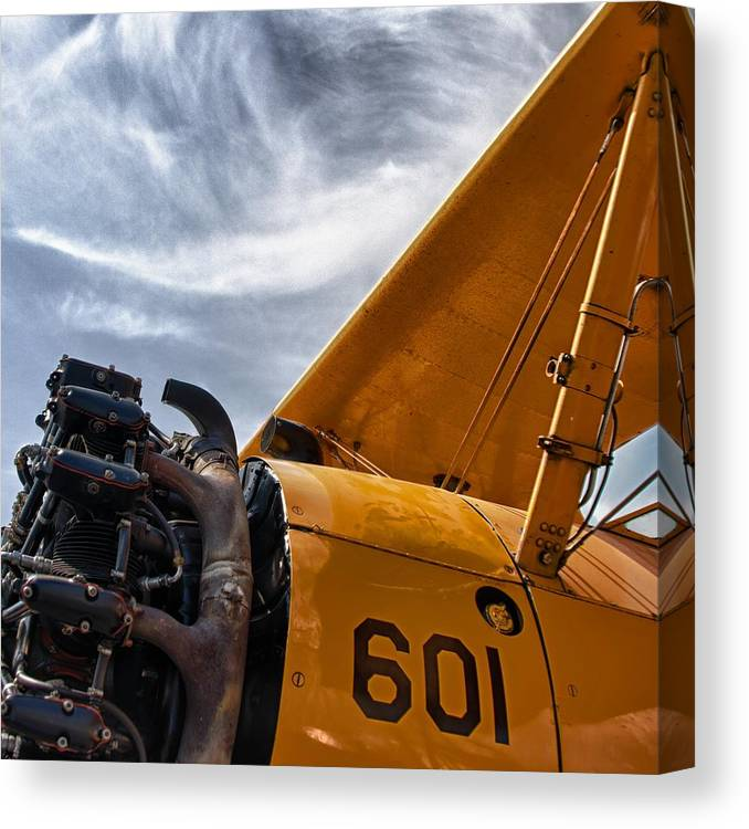 Airplanes Canvas Print featuring the photograph Aero Machine 2 by Nathan Larson