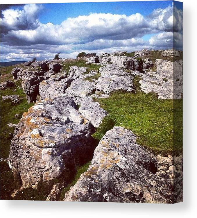 Birkrigg Canvas Print featuring the photograph Birkrigg by Nic Squirrell