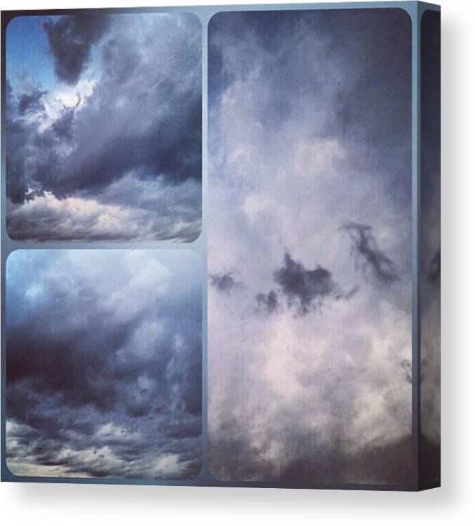 Andrography Canvas Print featuring the photograph God Is The Ultimate Painter... #nature by Kel Hill