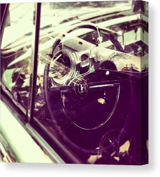 Volkswagon Canvas Print featuring the photograph Going Places by Gwyn Newcombe
