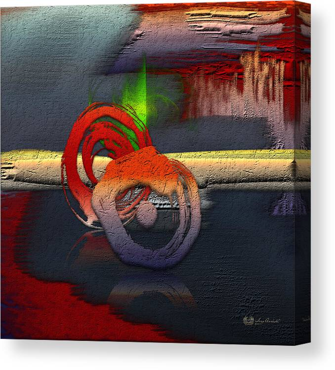 Abstracts Plus By Serge Averbukh Canvas Print featuring the photograph The Night is Young by Serge Averbukh