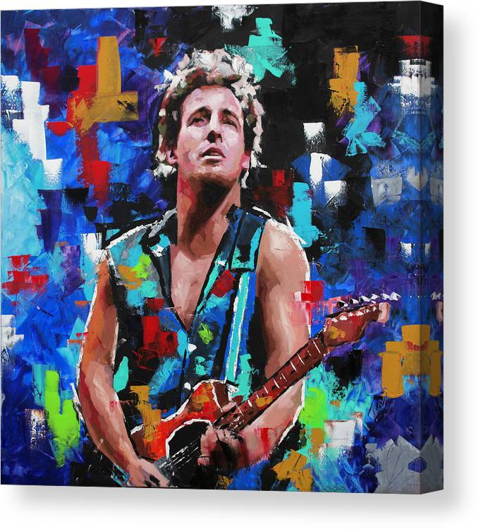 Giclee CANVAS Art Picture Print *Choose your size BRUCE SPRINGSTEEN