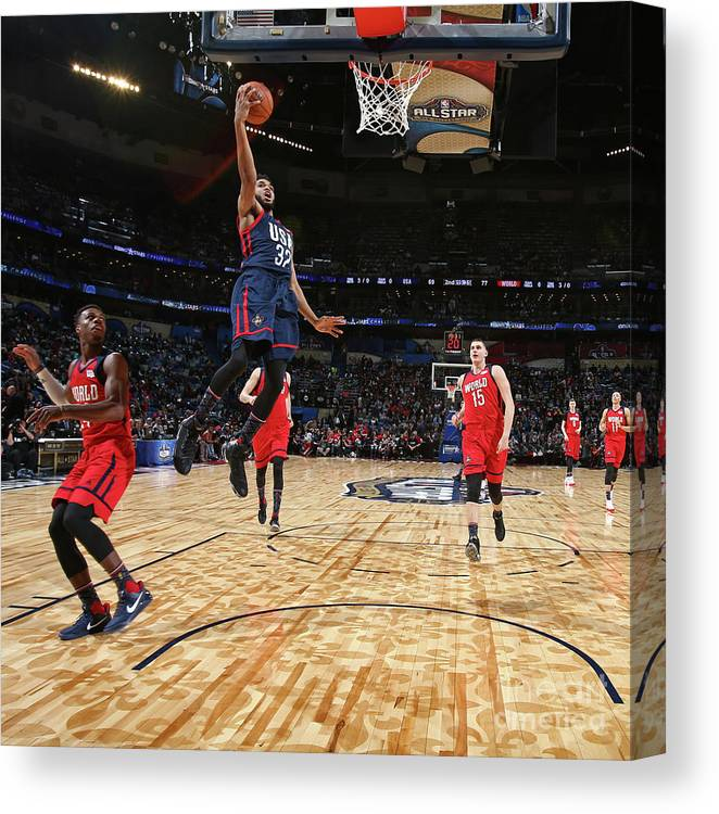 Event Canvas Print featuring the photograph Bbva Compass Rising Stars Challenge 2017 by Nathaniel S. Butler