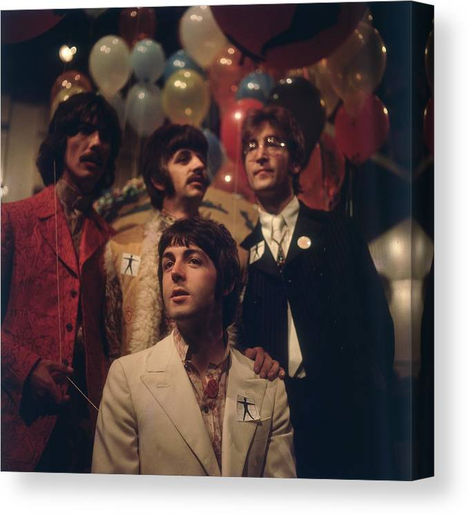 Rock Music Canvas Print featuring the photograph All You Need Is Love by Bips