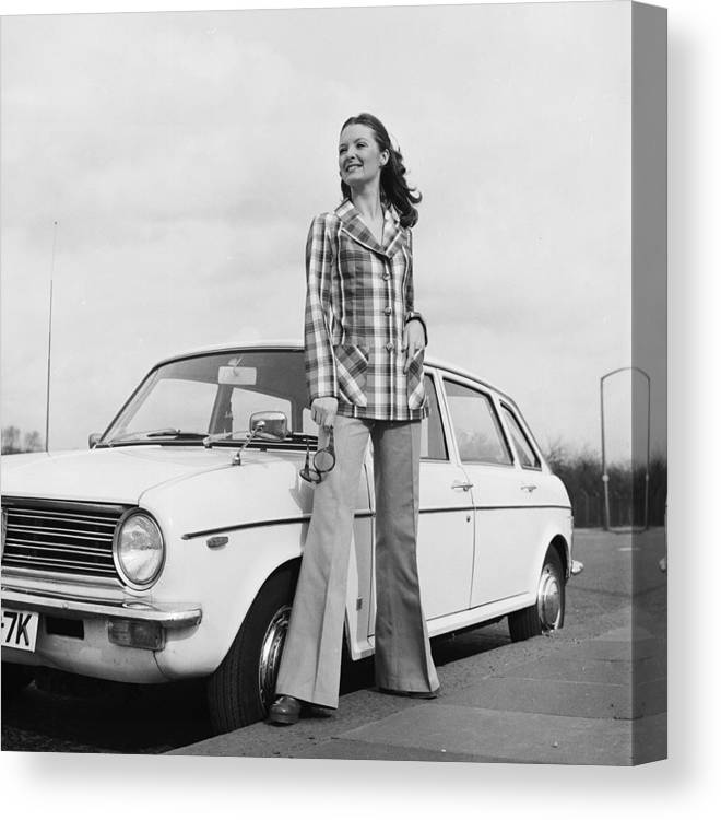 Fashion Model Canvas Print featuring the photograph Want A Lift by Chaloner Woods