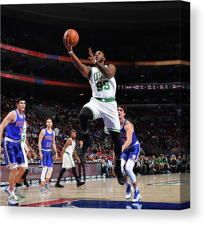 Nba Pro Basketball Canvas Print featuring the photograph Jae Crowder by Jesse D. Garrabrant