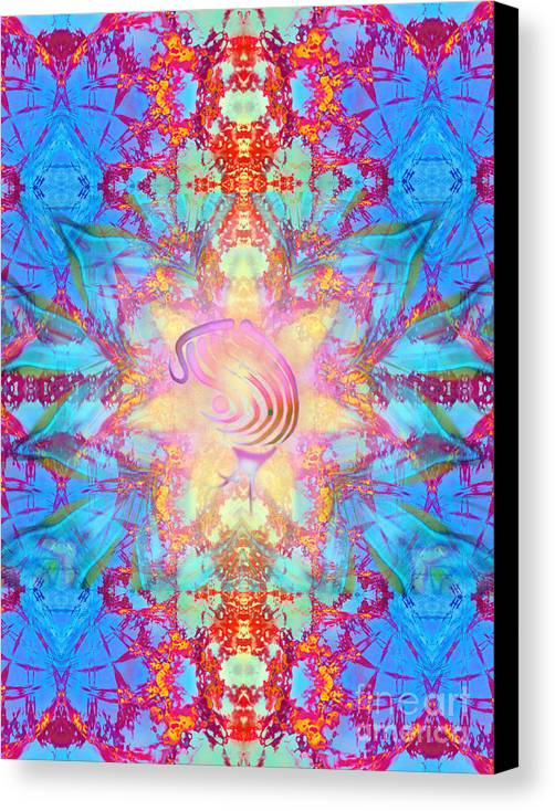Aeres Canvas Print featuring the digital art Anandas Will by Aeres Vistaas