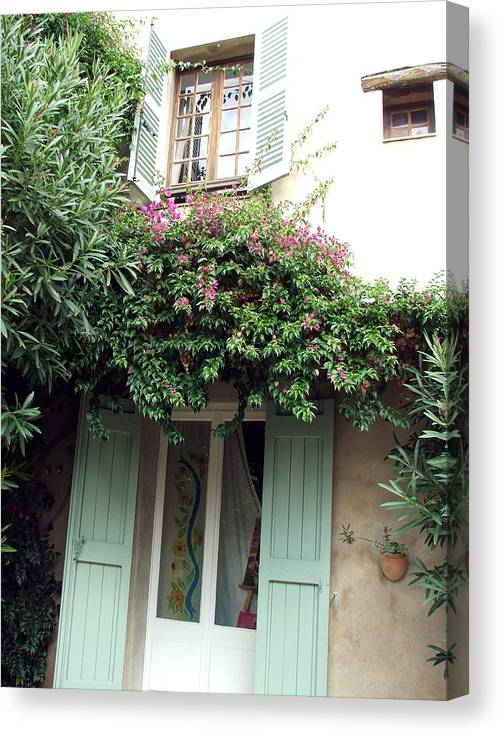 France Canvas Print featuring the photograph Entrances Of Provence by Barbara Hammond
