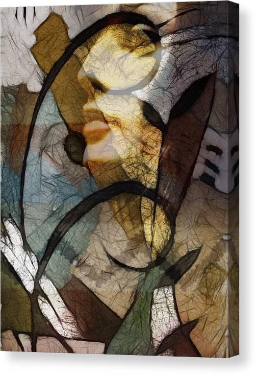 Feelings Canvas Print featuring the digital art Feelings by Ann Croon