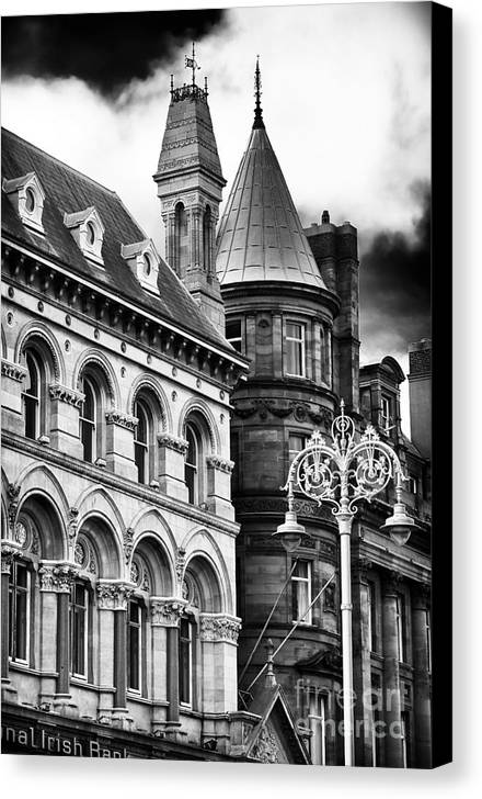 Old Dublin Canvas Print featuring the photograph Old Dublin by John Rizzuto